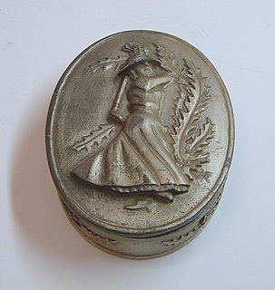 Pewter Trinket Box 1