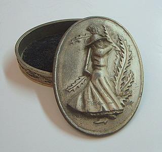 Pewter Trinket Box 2