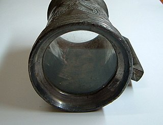 Glass-Bottomed Swatow Pewter Tankard 2