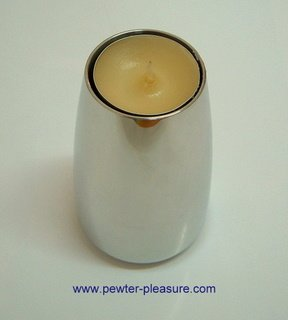 Pewter Candle Holder 2