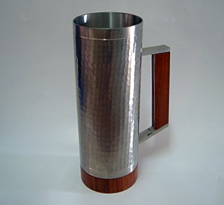 Pewter Tankard - Hammered