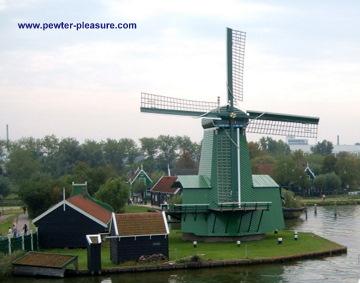 Zaanse Schans Windmill 1