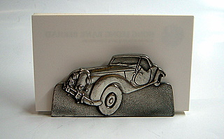 Pewter Business Card Holder 2