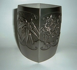 Pewter Caddy - Four Gentlemen 2