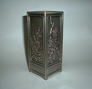 Pewter Caddy - Four Seasons 4